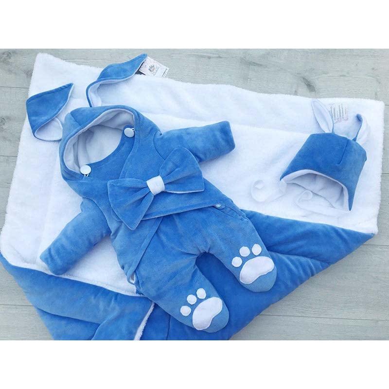 Комбінезон для новонародженого хлопчика Кролик Міккі