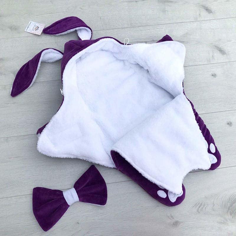 Комбінезон для новонародженої дівчинки Зайчик Віолетта