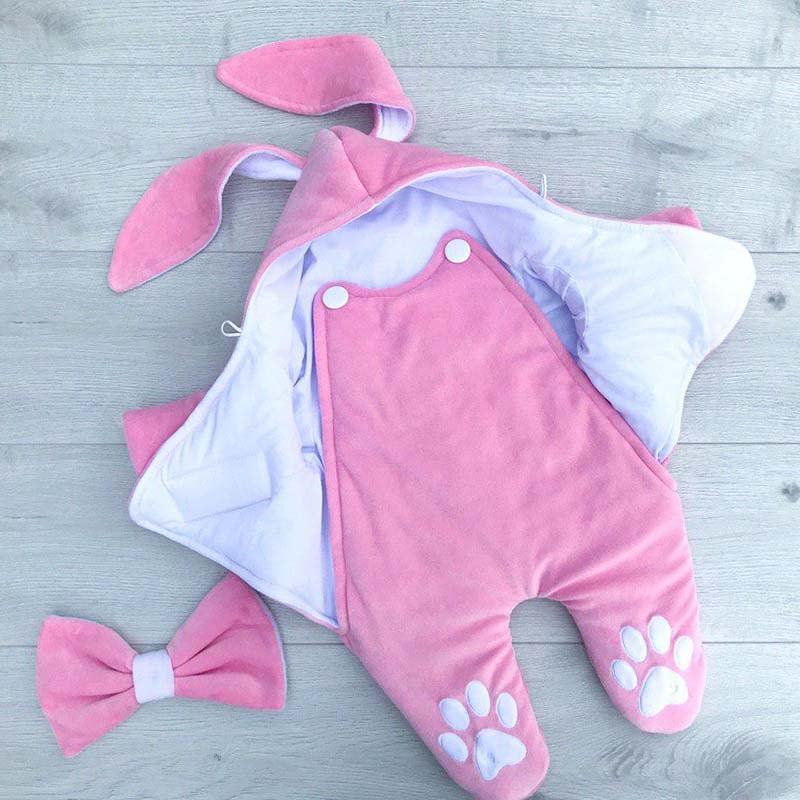 Комбінезон для новонародженої дівчинки Зайчик Роза