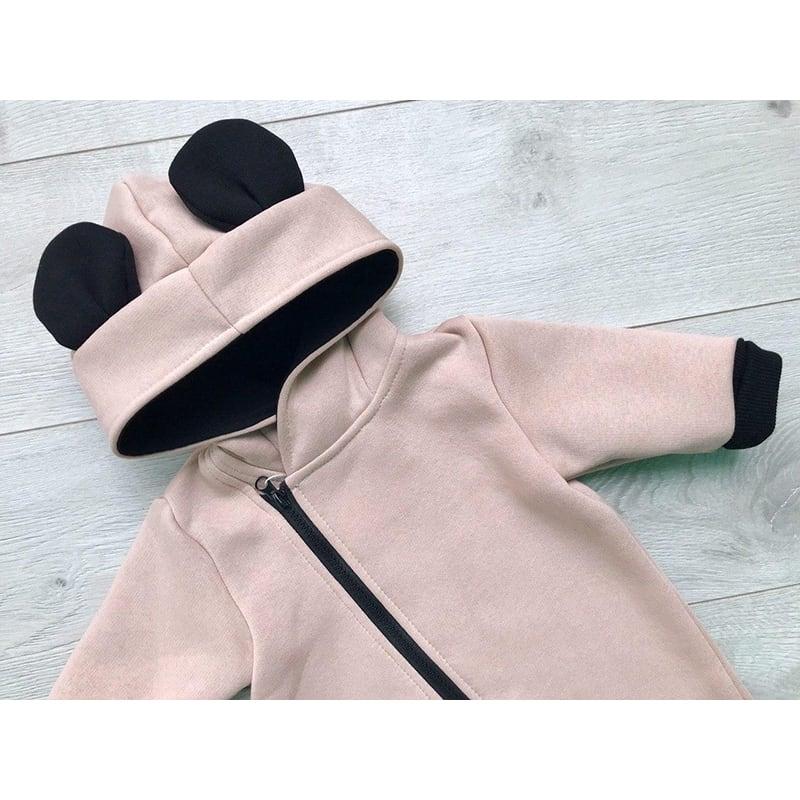 Комбінезон для новонароджених Mickey Mouse cream jersey