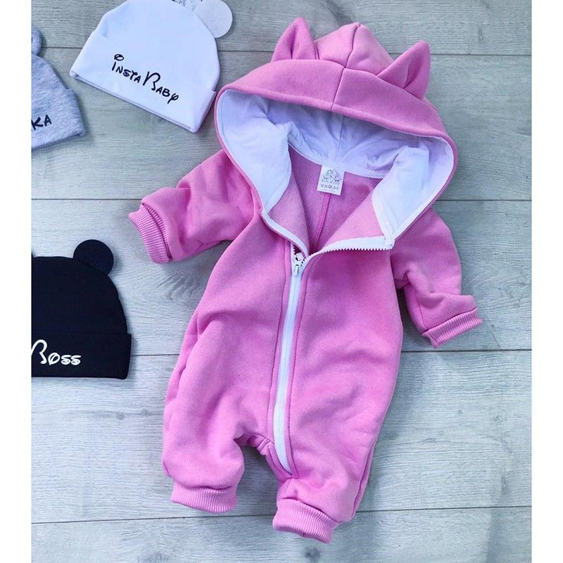 Дитячий комбінезон Vicky Vale pink jersey