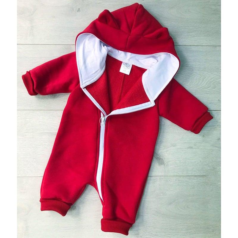 Комбінезон для новонароджених Marvel red jersey