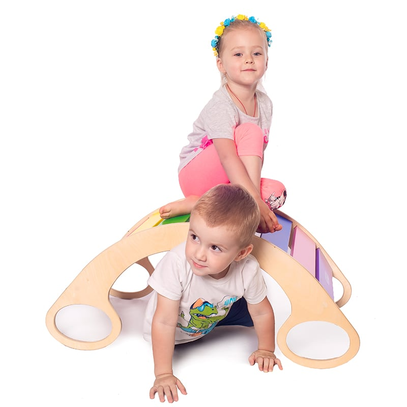 Крісло-гойдалка дитяча Веселка міні