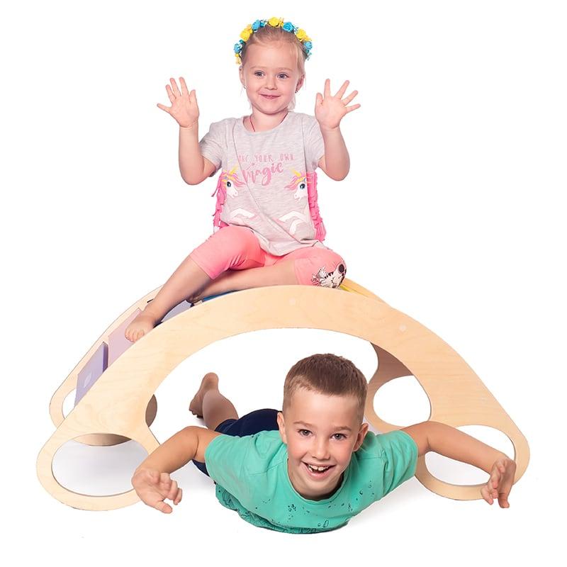 Детское кресло-качалка Радуга макси
