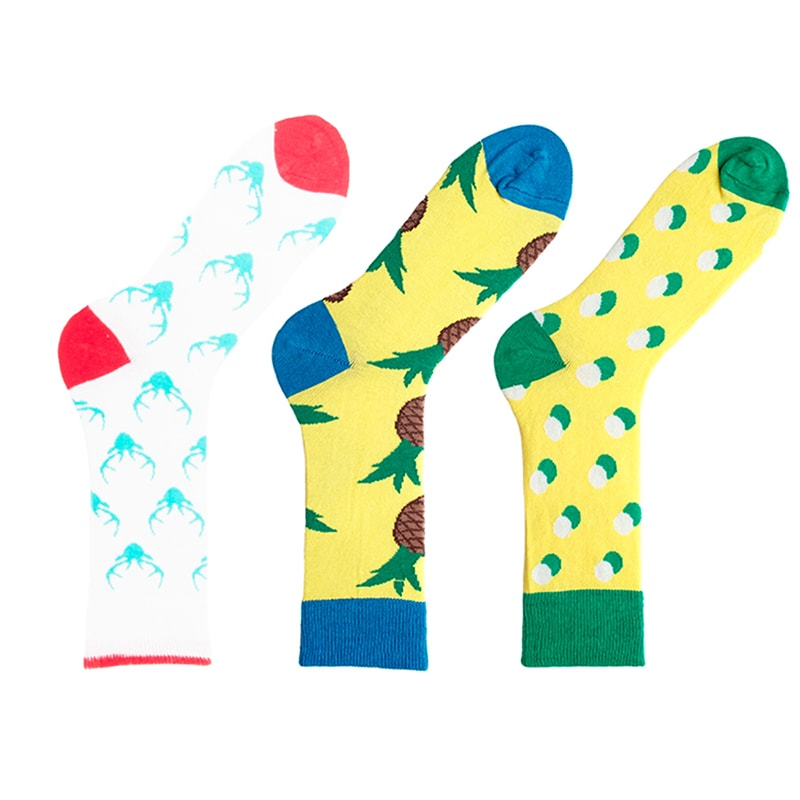 Прикольні жіночі шкарпетки Acid