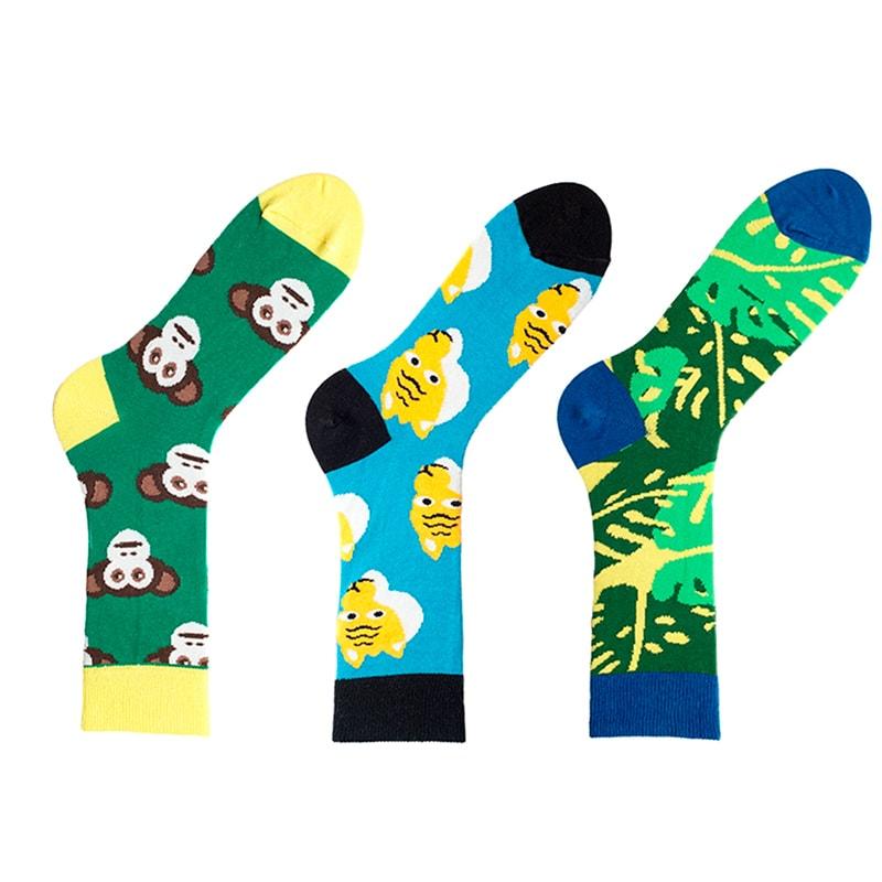 Яскраві жіночі шкарпетки Jungle