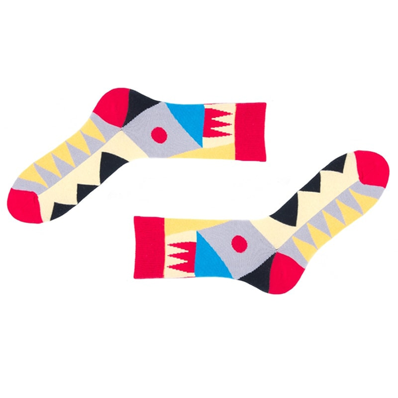 Оригинальные женские носки Geometry