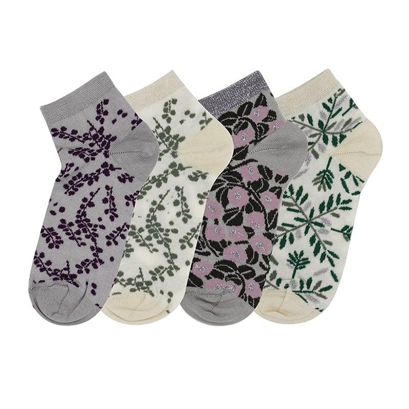 Носки набором Flower Pattern для женщин