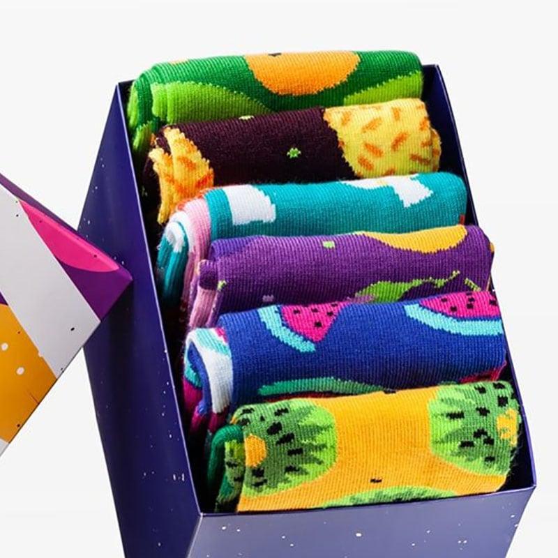 Носки в подарочной упаковке Fruit Style