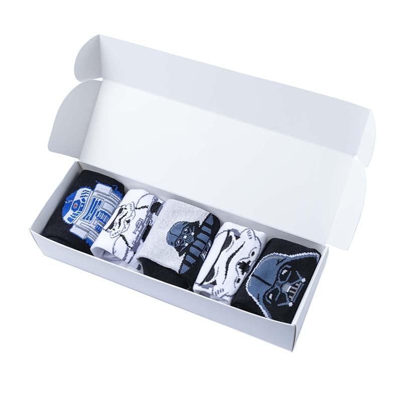 Набор мужских носков в подарочной упаковке Star Wars