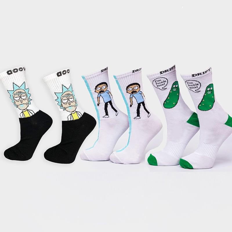 Набор женских носков Evil Rick