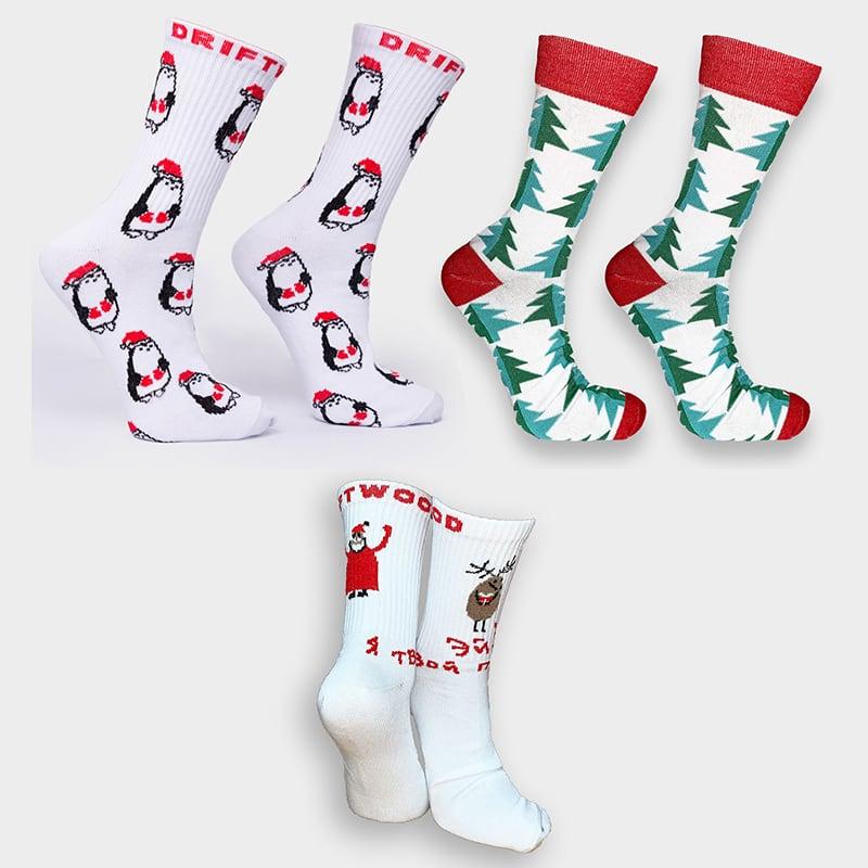 Женские носки в подарочной упаковке Christmas Style