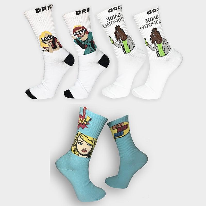 Жіночі шкарпетки Pop Up Girl