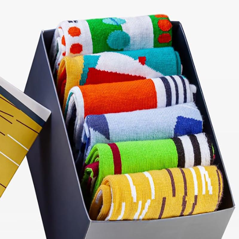 Мужские носки в подарочной упаковке Dynamic Style