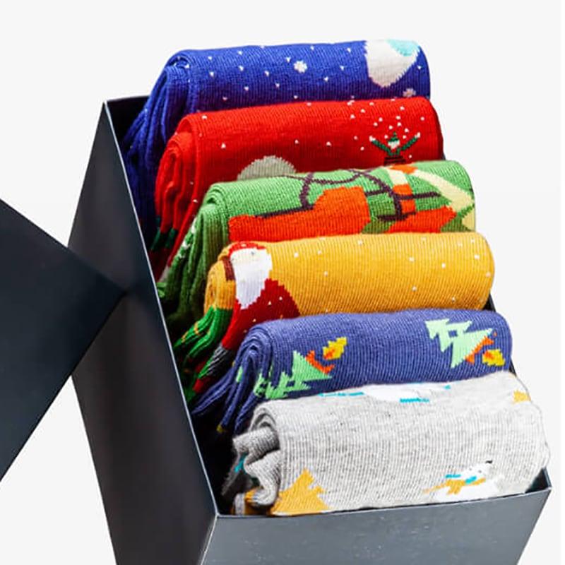 Женские носки в подарочной упаковке Happy New Year