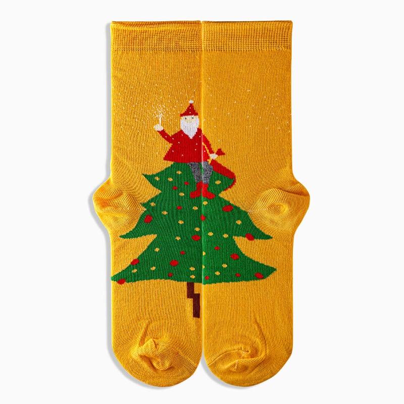 Носки в подарочной упаковке Happy New Year