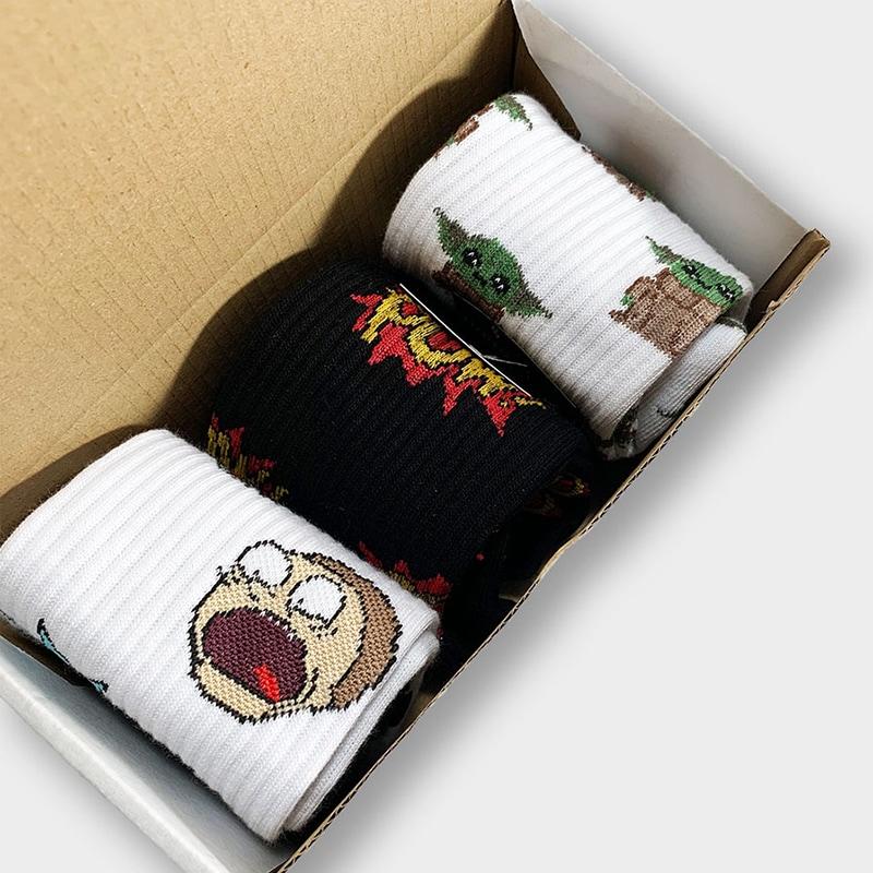 Набір чоловічих шкарпеток Rick And Morty New