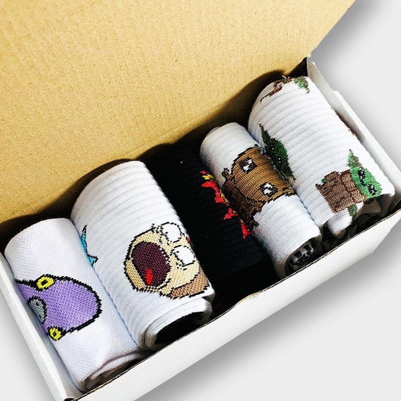 Жіночі шкарпетки в подарунковій упаковці Unicorn Poop