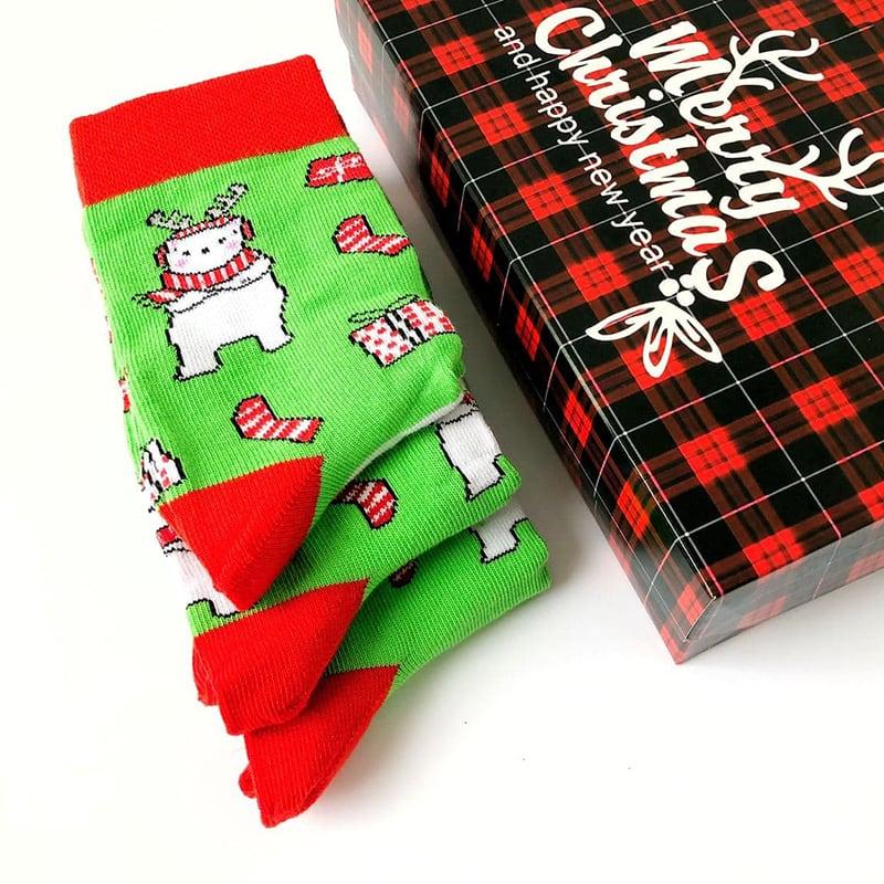 Подарочный набор носков Вear Rudolph
