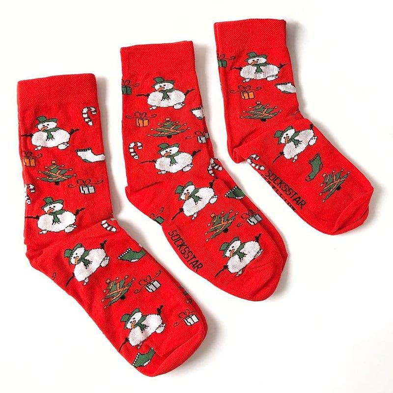 Набір шкарпеток в боксі Merry Christmas