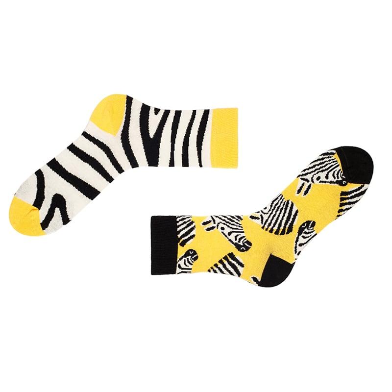 Яркие и прикольные носки в подарок Africa