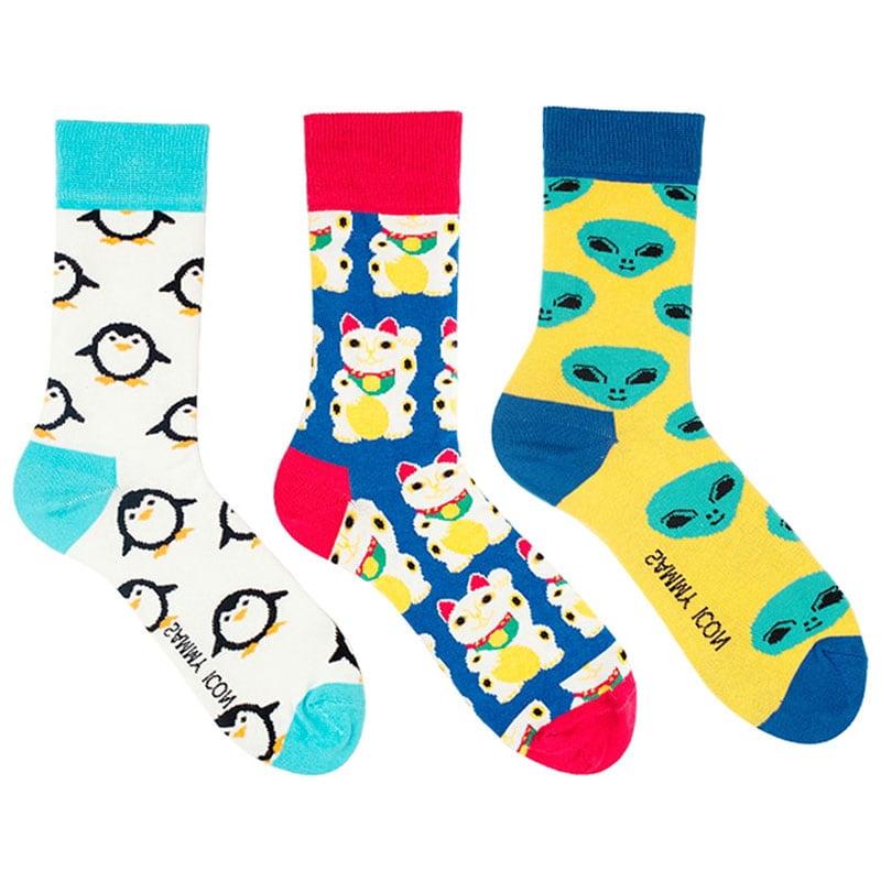 Стильный брендовый подарочный набор мужских носков Mini 1 Man
