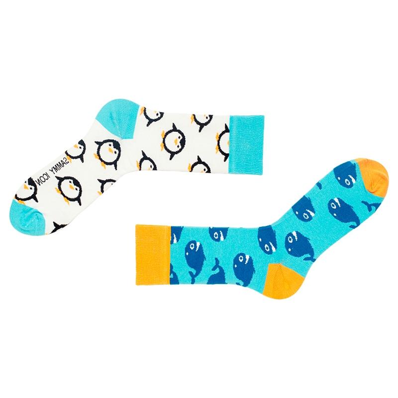 Стильний брендовий подарунковий набір чоловічих шкарпеток Mini 1 Man