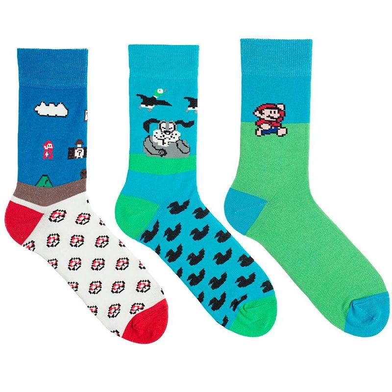 Набір шкарпеток в подарунок Mario Brothers