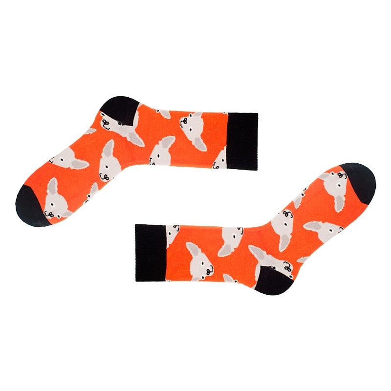 Мужские прикольные носки в подарок Dogs
