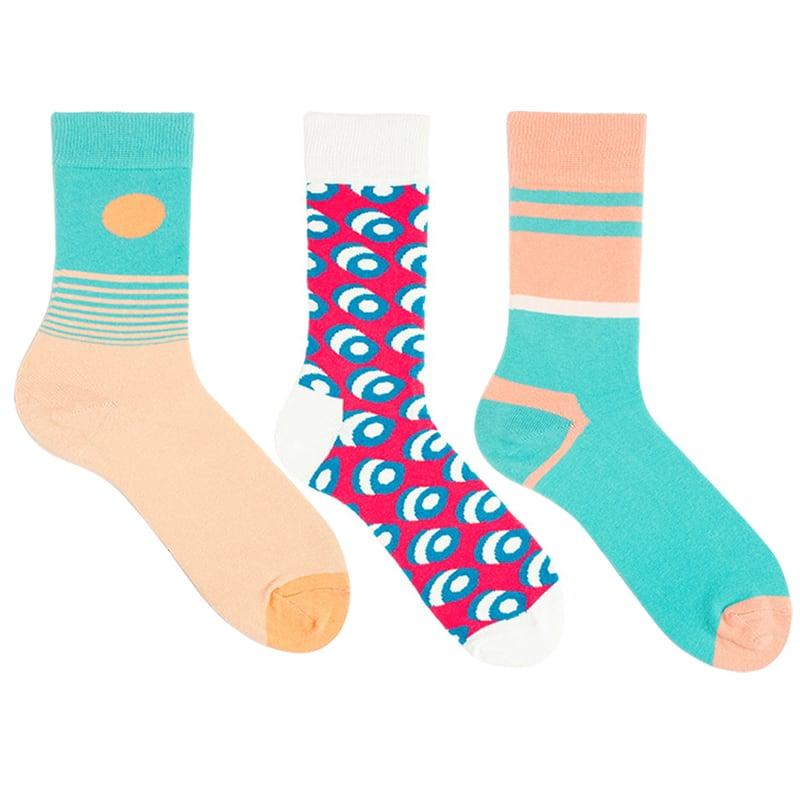 Модные мужские носки Acid