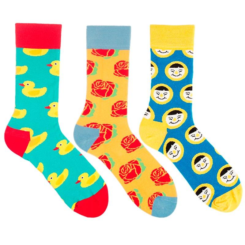 Креативные мужские носки Eclectic