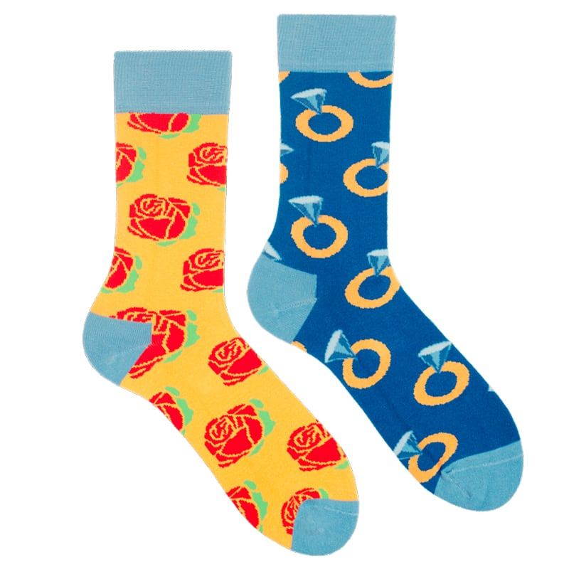 Эксклюзивные прикольные носки в подарок Autumn sentiments