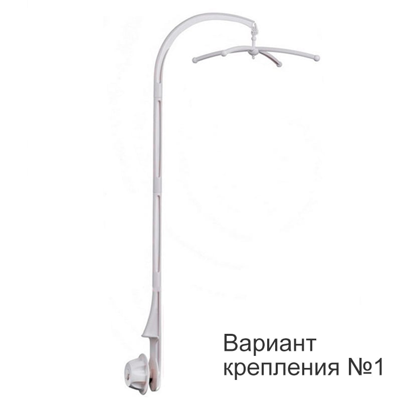 Нежный мобиль-карусель на детскую кроватку ЛЕТАЮЩИЕ СЛОНИКИ