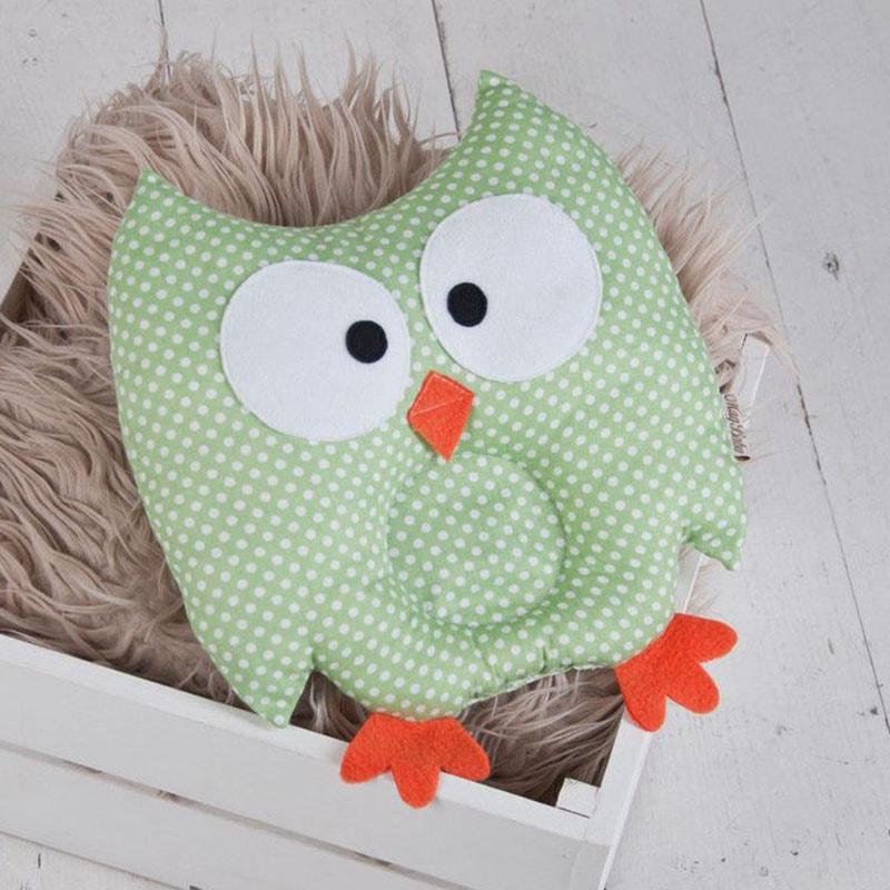 Подушка ручной работы для ребенка Сова