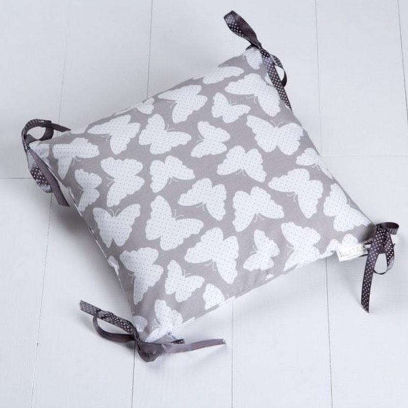 Подушка ручной работы для ребенка Бабочка