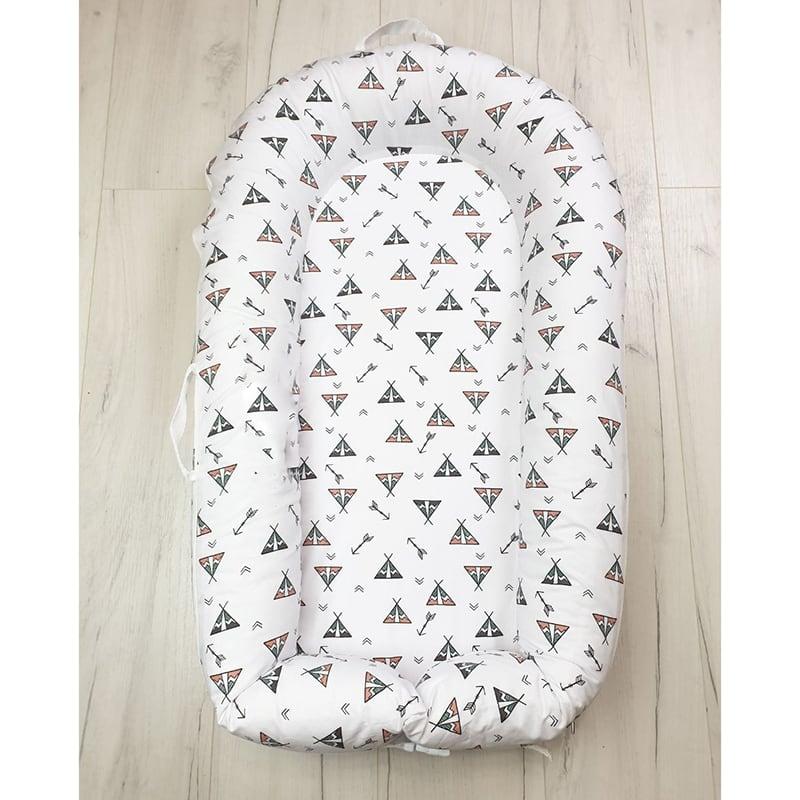 Кокон со съемным чехлом для новорожденных Wigwam