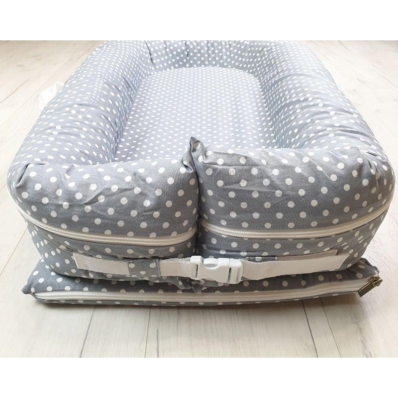 Кокон гніздечко для новонароджених Gray Pearl
