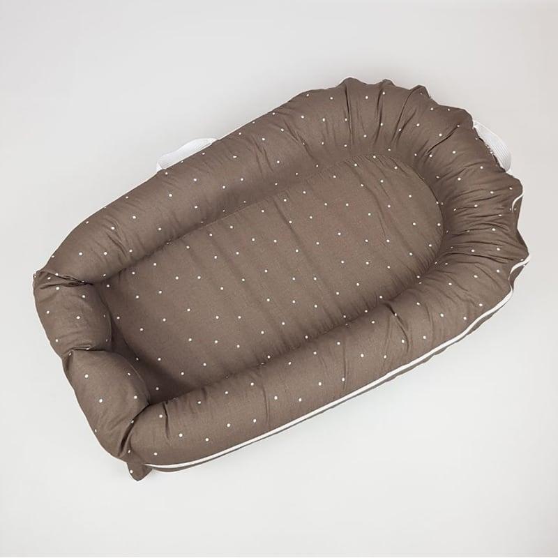 Кокон со съемным чехлом для новорожденных Chocolate Nest