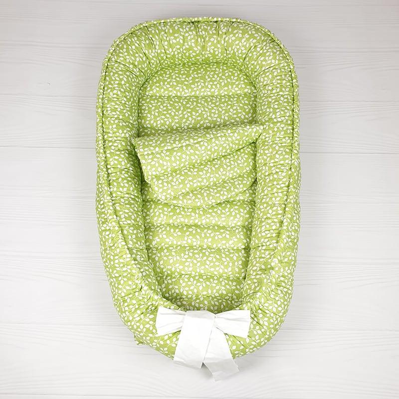 Кокон гнездышко для новорожденных Spring Motives