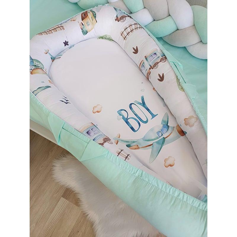 Кокон для новорожденного мальчика Baby Boy