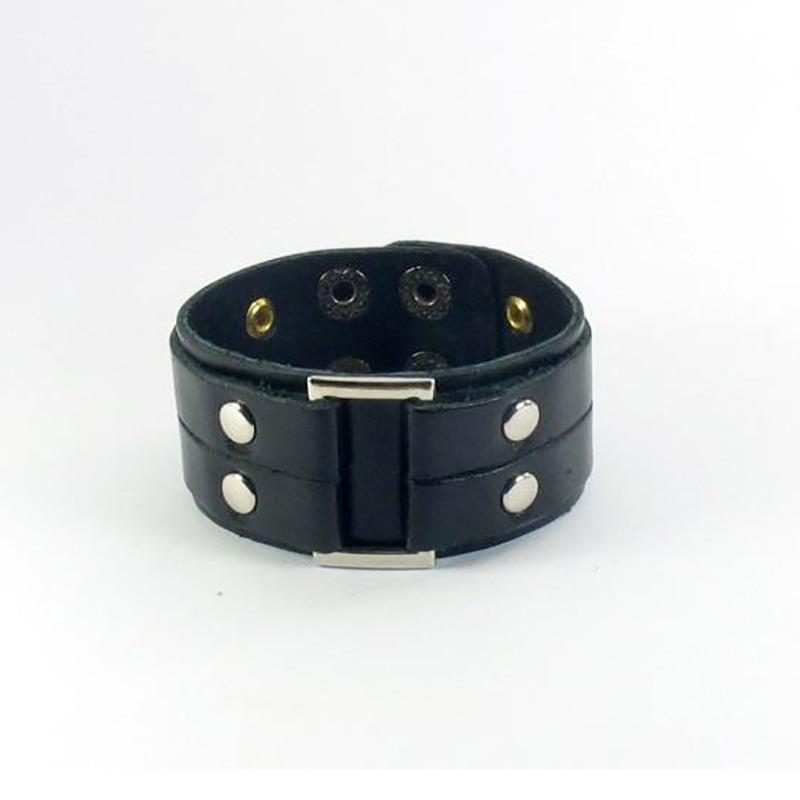 Шкіряна манжета Urban Style black leather