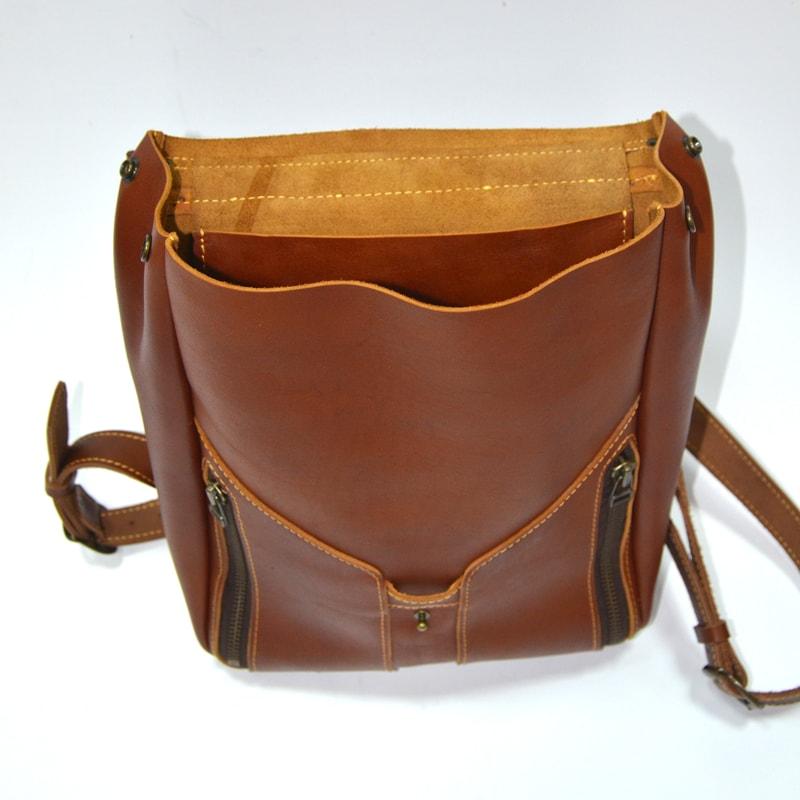 Дизайнерская сумка в подарок Brown leather
