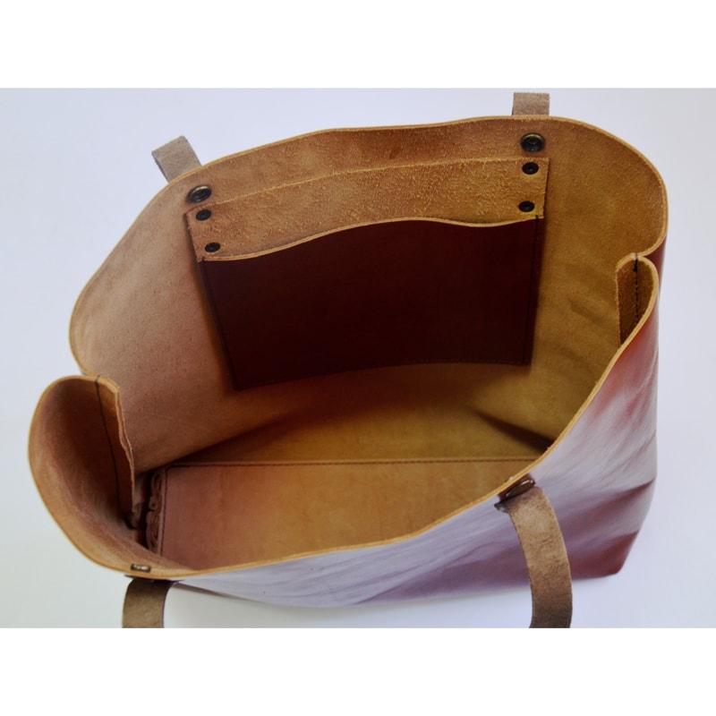 Сумка – шопер в подарок Red leather