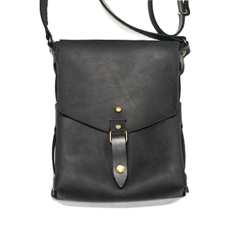 Сумка шкіряна Crossbody Black leather