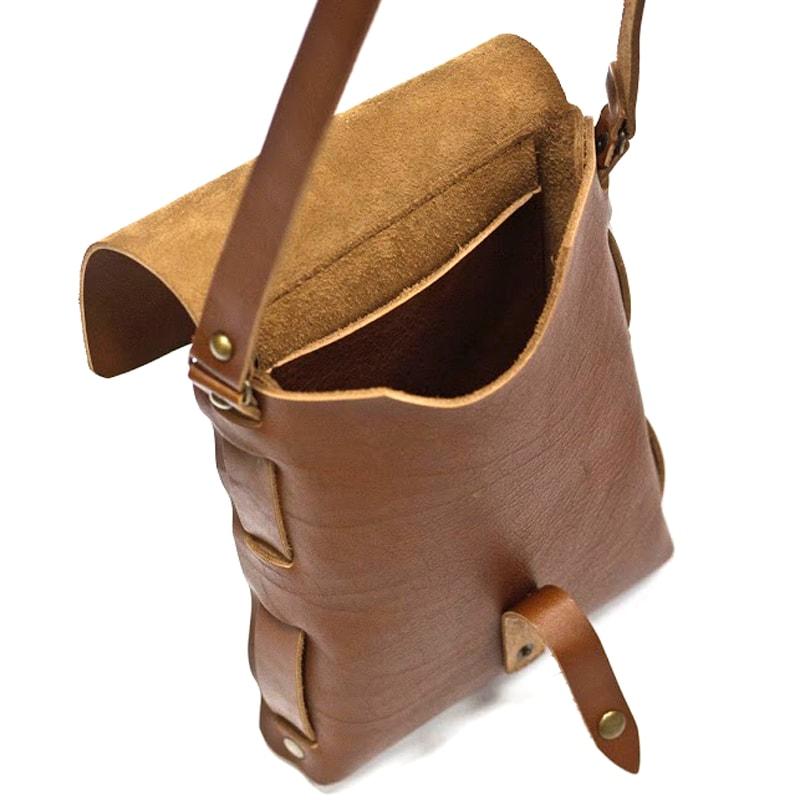 Handmade сумка Crossbody Brown leather