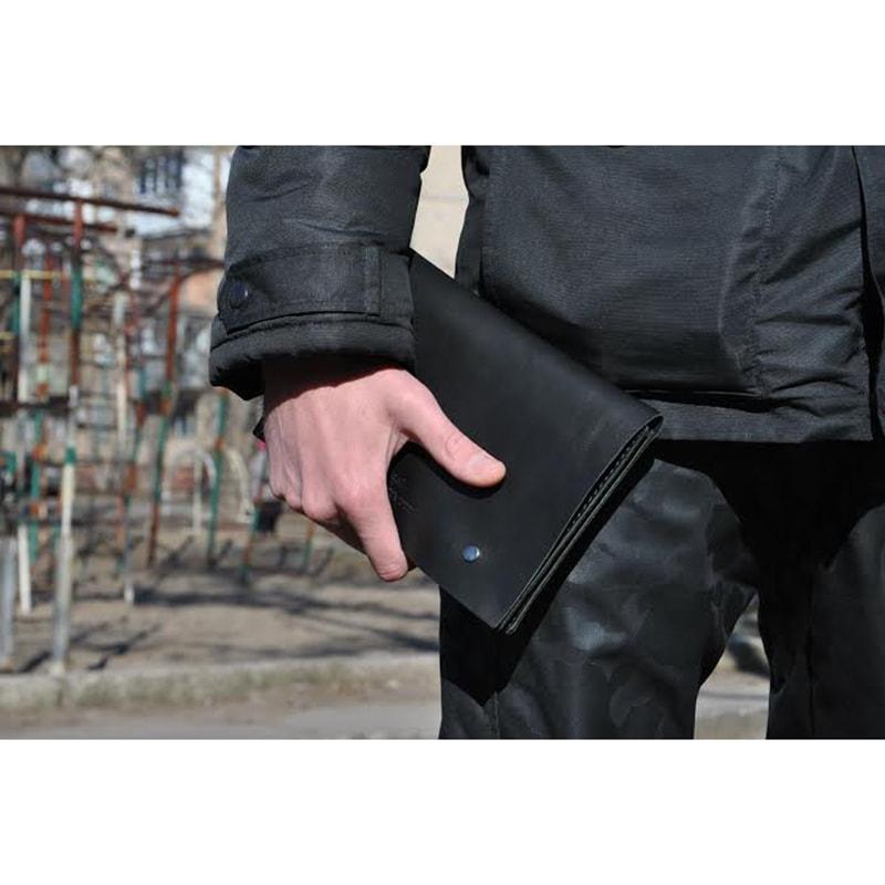 Мужской клатч Anthracite leather