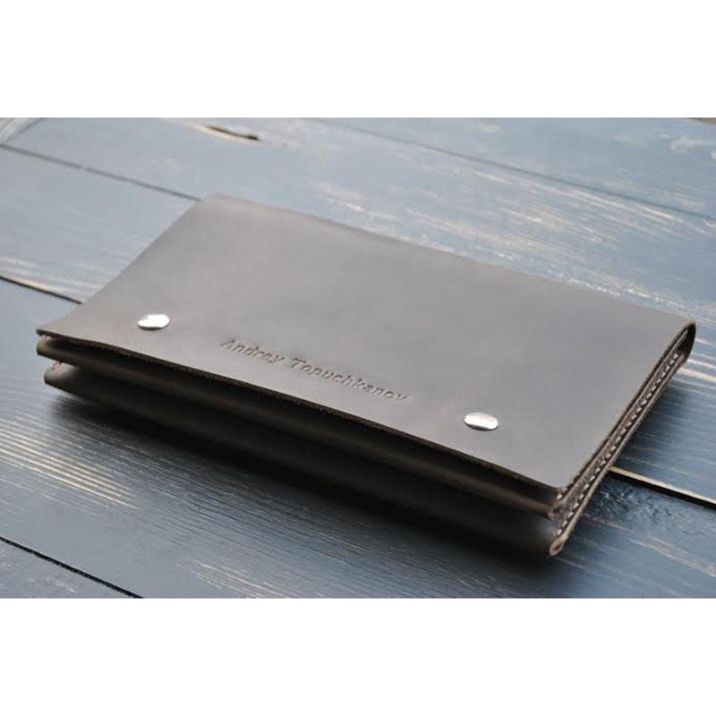 Чоловічий клатч Zircon leather