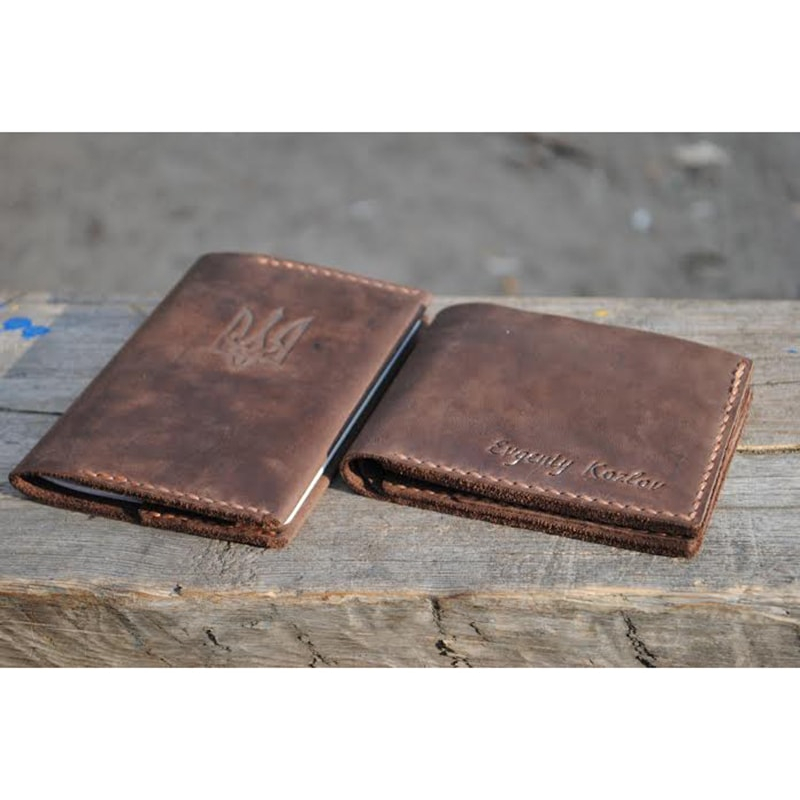 Обложка для паспорта и бумажник Vintage leather
