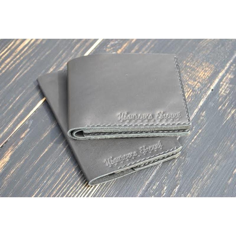 Бумажник и обложка для паспорта Рearl leather