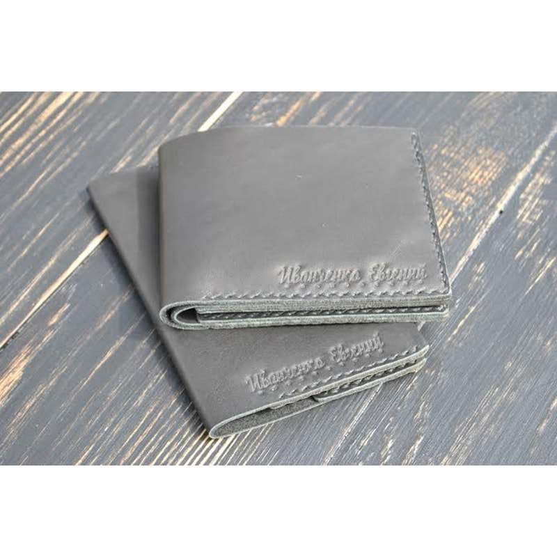 Гаманець, обкладинка для паспорта Рearl leather